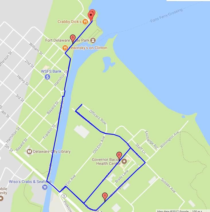Delaware Distance Classic 5k delaware city course
