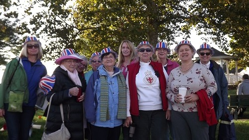 2015 British Ladies Volunteer