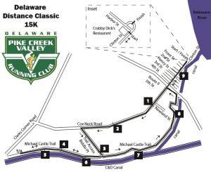 DDC 15K race course