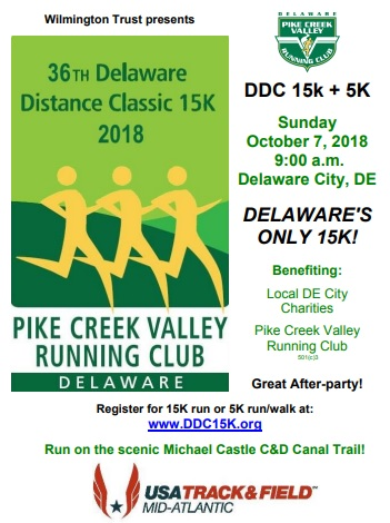 DDC race poster